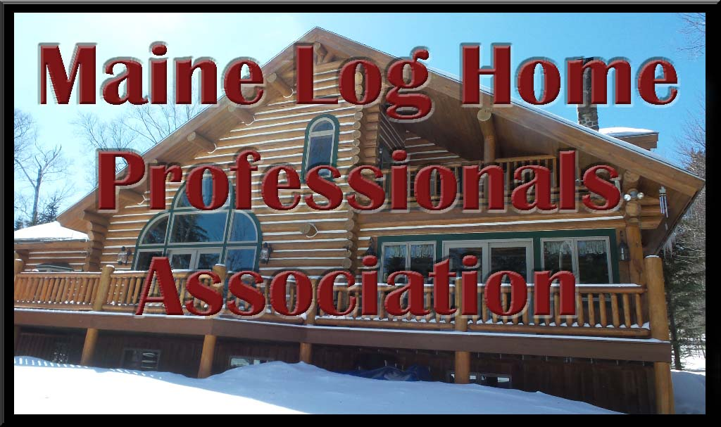 Maine log home professionals Association Logo
